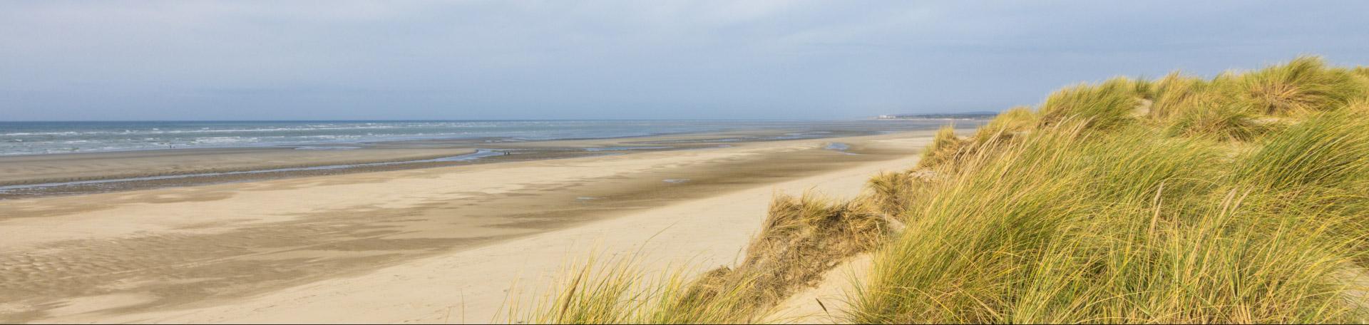 La route du Poisson, plage de boulogne-sur-mer